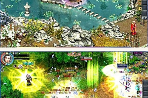 凤舞天骄 一款画面相当漂亮的2D即时战斗网络游戏源码
