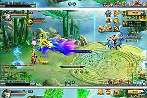 横版RPG角色扮演类《明月飞仙》网页游戏源代码