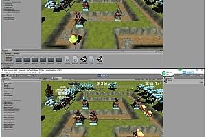 unity3D游戏手游源码/iOS/android/3D版塔防游戏源码