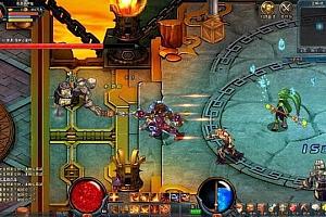 2D动作解谜网游:天空之剑online全套游戏源码