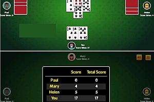 HTML5红心扑克牌游戏源码