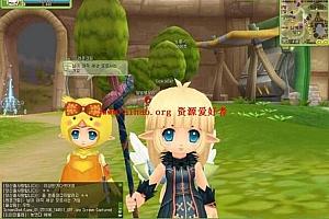 Q版网游露娜online客户端游戏源码