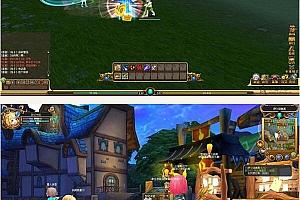 梦幻卡修 卡通半休闲网游 轻松诙谐的梦幻世界 全套游戏源代码资源