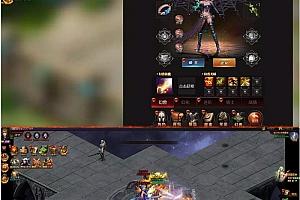 三网游戏【魔域来了H5】一键即玩服务端+双GM工具+PC自动全屏+外网教程